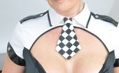 Stocking Aces Play Your Cards Right And She'Ll Use Her Handcuffs Stocking Aces