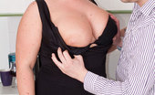 Busty Work 471973 Busty BBW Fucks Employer Glowing BBW Blonde Maid Gets It On With Her Employer Instead Of Doing The Work Busty Work