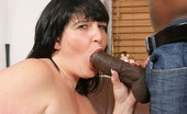 Busty Work 472063 Fat Salesgirl Got Dicked Fat Brunette Salesgirl In Black Fishnets Takes Lots Of Inches Of Black Cock At Work Busty Work