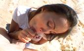 Club Katsuni 472082 Katsuni Blows Cameraman In Desert And Takes Some Splooge Down The Throat! Club Katsuni