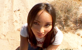 Club Katsuni Katsuni Blows Cameraman In Desert And Takes Some Splooge Down The Throat! Club Katsuni