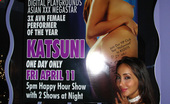 Club Katsuni Sexy Asian Slut Katsuni Gets Naked On The Strip Pole And Turns The Crowd On Club Katsuni