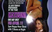 Club Katsuni Sexy Asian Slut Katsuni Gets Naked On The Strip Pole And Turns The Crowd On Club Katsuni