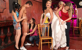 CFNM 18 Girls At Czech Hen Party Go Out Of Control With CFNM Stripper CFNM 18