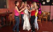 CFNM 18 CFNM Hen Party At Prague Club With Sexy Teen Sandra As A Bride CFNM 18