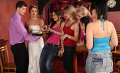 CFNM 18 Bride Fucks A Stripper And A Waiter At Her CFNM Bachelorette Party CFNM 18