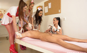 CFNM 18 Medical Exam With For CFNM Nurses Jerking And Pumping Cock CFNM 18