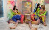 CFNM 18 Five Next-Door Girls Undress And Humiliate Their Unsuspicious Neighbour CFNM 18
