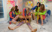 CFNM 18 472355 5 Amateur Teens Paint Their Room And Enjoy CFNM Orgy With A Neigbour CFNM 18