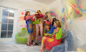 CFNM 18 5 Next-Door Teens Humiliating And Getting Their Male Neighbour Undressed CFNM 18