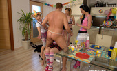 CFNM 18 Birthday Surprise Turns A Regular Party In CFNM Orgy CFNM 18