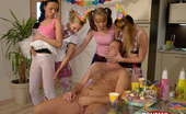 CFNM 18 18yo Euro Teen Enjoys Her Birthday Surprise Party CFNM 18