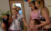CFNM 18 Horny CFNM Girls Celebrate 18th Birthday Of Their Friend CFNM 18