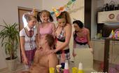 CFNM 18 Best Fun For Girls Having Birthday Party Is CFNM Sex CFNM 18