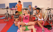 CFNM 18 A Fitness Trainer Gets Sexually Dominated By 5 Cock-Starved Teens CFNM 18