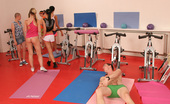 CFNM 18 Teen Girls Sexually Punish Coach And Leave Him Naked And Alone In Gym CFNM 18