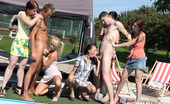 CFNM 18 CFNM Guys Sucked & Fucked At Pool Party By 18yo Czech Babes CFNM 18