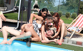 CFNM 18 472487 Free CFNM Pool Party With Cock-Sucking And Cumshots CFNM 18