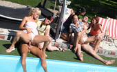 CFNM 18 Real Teen CFNM Orgy Outdoors By The Pool CFNM 18