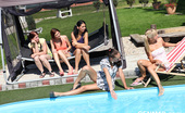CFNM 18 472515 A Group Of Hot Teens Tortures And Fucks 2 Guys By The Pool CFNM 18