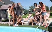 CFNM 18 472519 2 Pool Cleaning Guys Get Invited To Join CFNM Fun CFNM 18