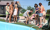 CFNM 18 472521 Free CFNM Pool Party With Cock-Sucking And Cumshots CFNM 18