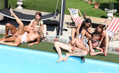 CFNM 18 Wild Amateur Sex In CFNM Pool Party With 7 Czech Teenagers! CFNM 18