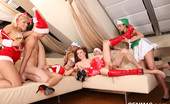 CFNM 18 Teens Drink Champagne At Christmas CFNM Orgy CFNM 18