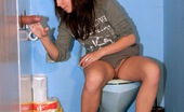 Holey Fuck 472630 Nicole Naughty Girl Pleasing A Strangers Cock In A Public Toilet Holey Fuck