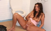 Holey Fuck Gallery Th 26830 T Brunette Milf Loves Pleasing A Stranger His Boner In Toilet Holey Fuck