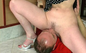 Horny Old Gents Dorothy & Paul Horny Older Neighbor Giving Girlie New Sensations Fucking Hard On The Stool Horny Old Gents