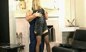 Horny Old Gents Louisa & Caspar Stunning Gal With Burning Pussy Seducing Her Older Worker Into Wild Fucking Horny Old Gents