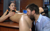 Horny Old Gents Sibylla & Marcus Sassy Young Secretary Seduces Her Older Boss Into A Vigorous Office Quickie Horny Old Gents