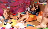 Teenage Group Sex Blonde Celebrating A Horny Sex Birthday Party At Her Home Teenage Group Sex
