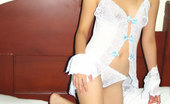 Tera Lee 473611 White Babydoll Babydoll lingerie makes Tera feel so seductive. Check out this photo set, and she'll work my charm on you. Tera Lee