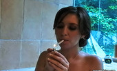 Pure Smoking 473742 Smoking In The Bathtub0Sexy Siren Shay Loren Smokes Her Cigarette While Taking A Bath Pure Smoking