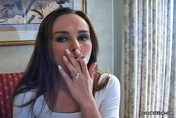 Pure Smoking 473771 Cassie Smokes In Slutty Stockings 0Seductive Teen Cassie Is A Smoking Lolita Pure Smoking