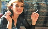 Pure Smoking Smoker Makes A ChoiceSexy Rocker Jacqueline Smokes Multiple Brands Of Cigarettes Pure Smoking