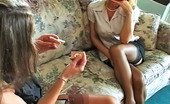 Pure Smoking 473848 Smoking Hot RoommatesSexy Latinas Rebecca And Vivian Enjoy The Taste Of Their Cigarettes Pure Smoking