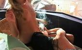 Pure Smoking Smoking Hot BeautiesBlonde Bombshell Mary Jane And Brunette Beauty Samantha Smoke Together Pure Smoking