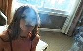 Pure Smoking 473880 Smoke Filled Nipple TasslesRoxetta Removes Her Nipple Tassles As She Exhales A Seductive Cloud Of Smoke Pure Smoking