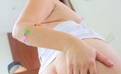 Sammy 18 474831 Sammy In Her Cute Striped Socks Sammy 18