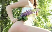 AV Erotica Nusia Who Wouldn'T Enjoy A Nice Sunny Day Picking Flowers With Nusia? AV Erotica