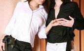 AV Erotica Paris Celesta & Paris Prove That Black And White Is Never Boring AV Erotica