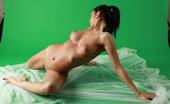 AV Erotica 475947 Magda Brunette Naked Babe Posing Naked In Gymnastic Poses AV Erotica