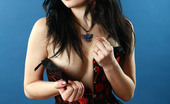 AV Erotica Selma Brunette Petite Babe With Pierced Nipples And Tatoos AV Erotica