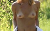AV Erotica Amber Amber Wears Snow-White Lingerie Over Her Tanned, Smooth Skin AV Erotica
