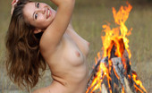 AV Erotica Amy Sexy And Lubricious Angel With Sexy Ass Likes To Pose Her Body On The Nature AV Erotica