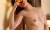 AV Erotica 476336 Renata Curly Renata Has Got A Shaved Pussy Hole To Demonstrate To Us AV Erotica
