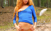 AV Erotica Nancy Redhead Nancy Is Superb In Her Outdoor Solo Scene AV Erotica